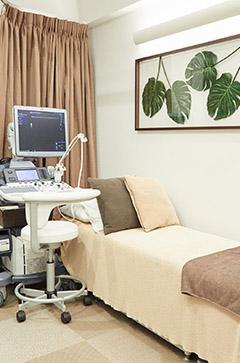 診察室内 検査スペース